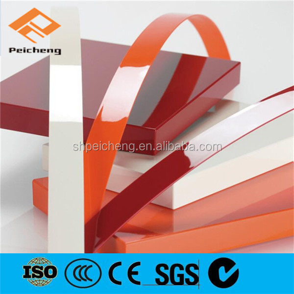 Hot selling China manufacturer PVC/ABS/Acrylic edge banding strip