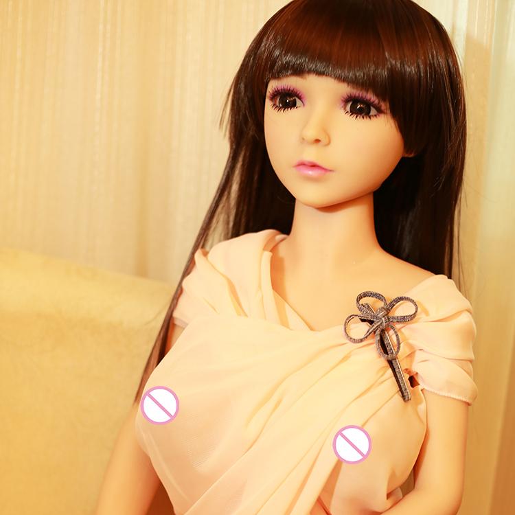 Muñeca de tpe del sexo de los 158cm muñeca realista del amor