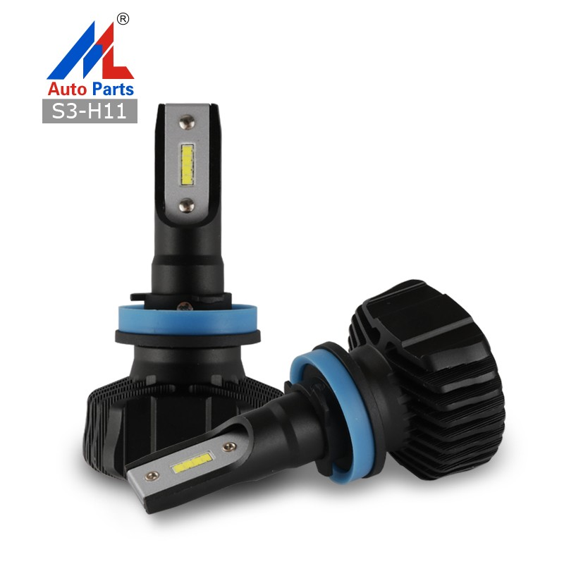 Error free with canbus 4 side auto LED headlight bulbs G5 COB 40W 8000LM 6000k H7 led headlight kit