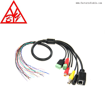 Remarkable Dc Power Bnc Connection Terminal Block Control Cable Cctv Osd Cable Wiring 101 Capemaxxcnl