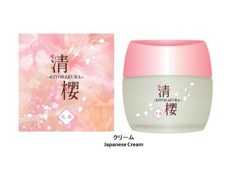 Japan facial product