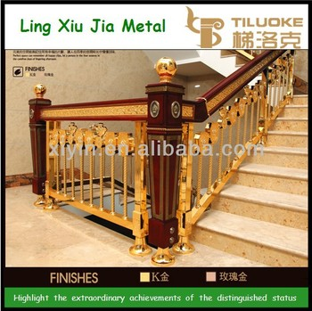 TLK LZ001 Copper And Wood Stair Newel Post