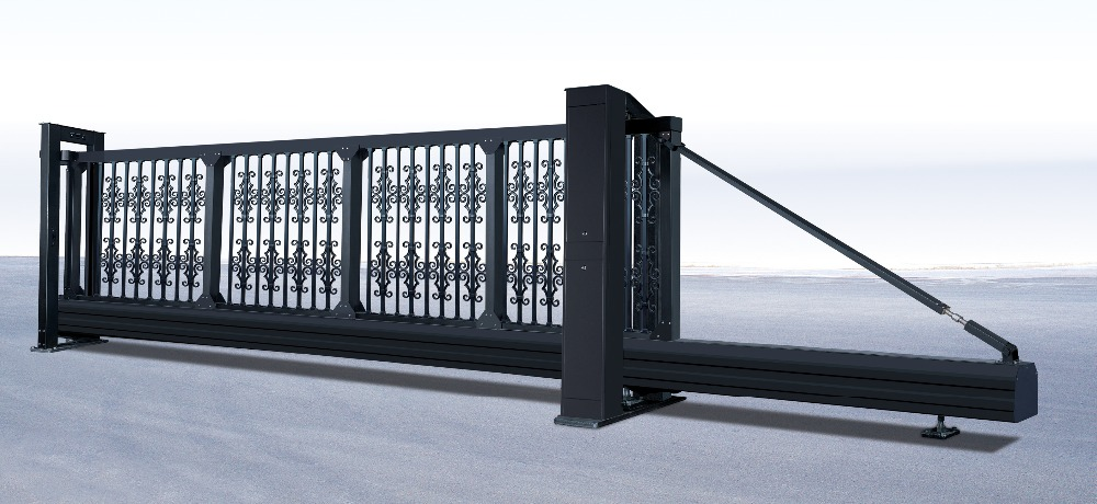 suspended gate with italy motors /electric motorised gate