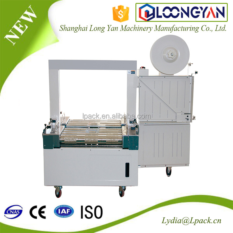 Packaging Systems Semi-Automatic Tabletop Banding Strapping Packing Machine