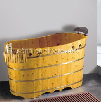 1200mm Beautiful Cedar Wooden Bathtub (049A)