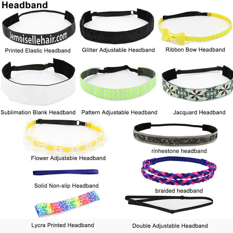 Wholesale Fashionable Stretchy Fitness Unisex Unicorn Custom Sports Headband