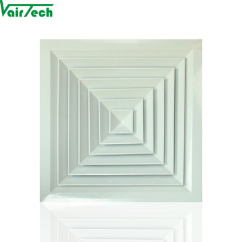 supply hvac ceiling air conditioning ventilation square air diffuser
