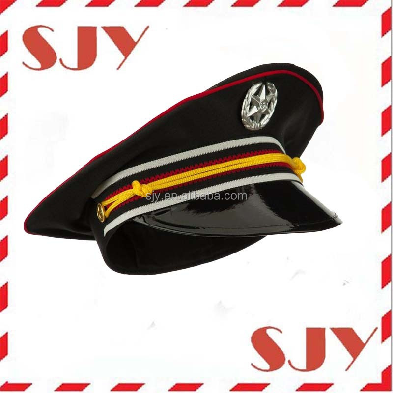 pilot uniform hat