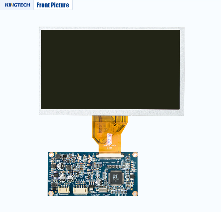 7 inch oled display 800X480 controller board