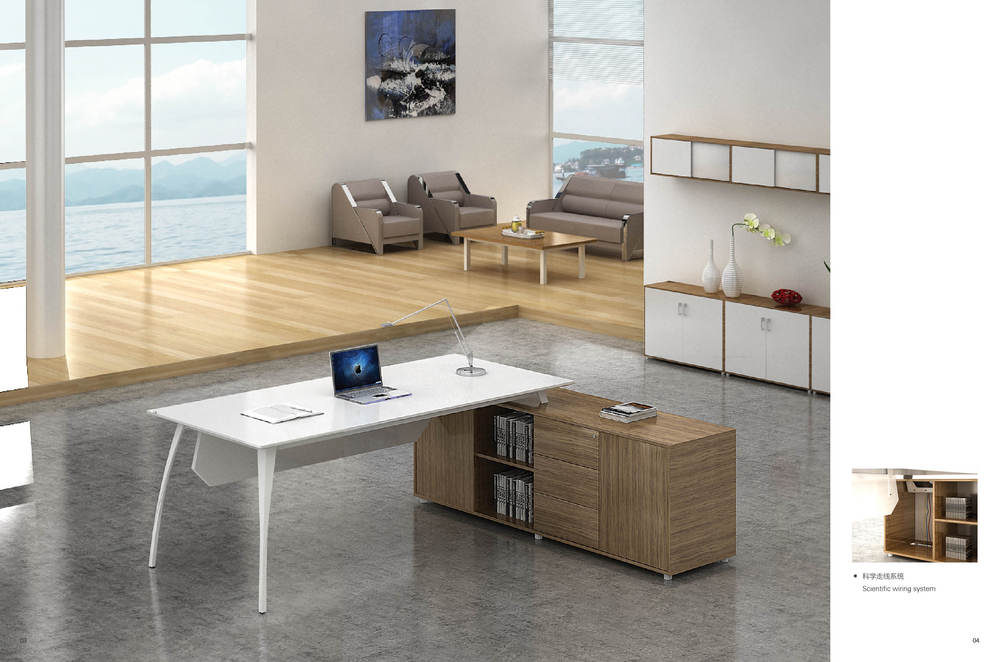 modern office desk modular office furniture/staff office desk with