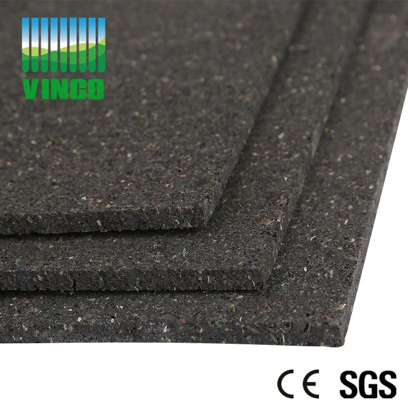 rubber granules ,better rubber shock damping mat for floor