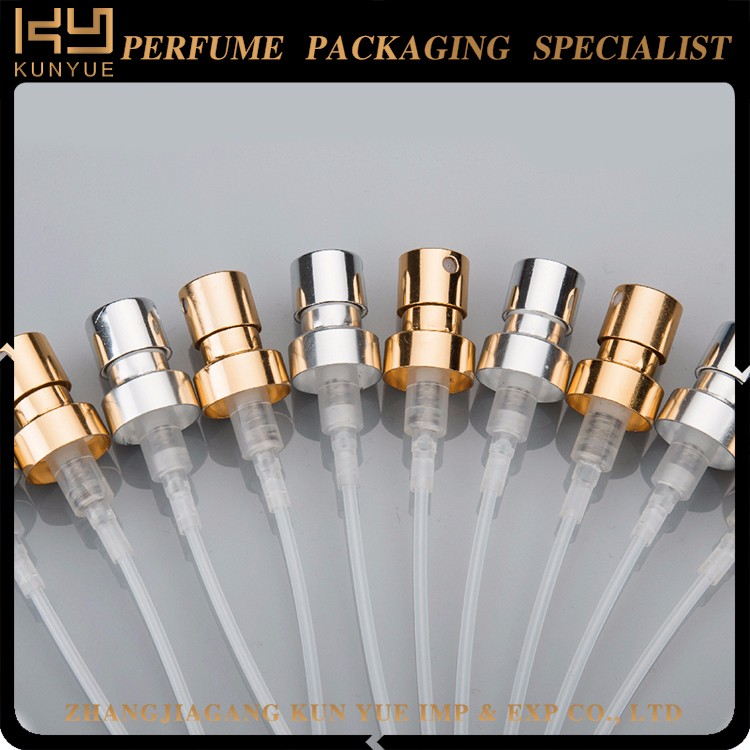Factory Direct Aluminum Perfume Pump Sprayer for Perfume Bottle