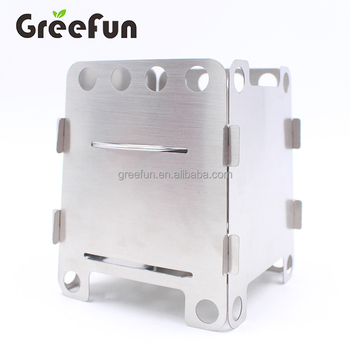 New Design Camping Stove Amping Stove Portable with Carry Bag Perfect for Survival Packs Pocket Stove