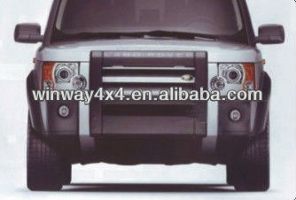 Front Bumper Guard For Land Rover Discovery3 06
