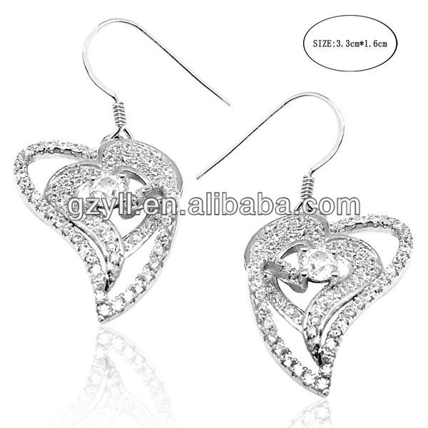 925 sterling silver earrings wholesale and manufacturer