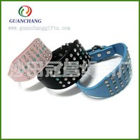 jeweled leather dog collars