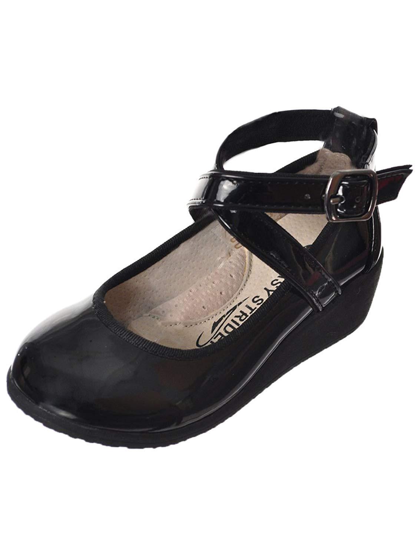 Easy Strider Girls' Patent Crisscross Mary Janes