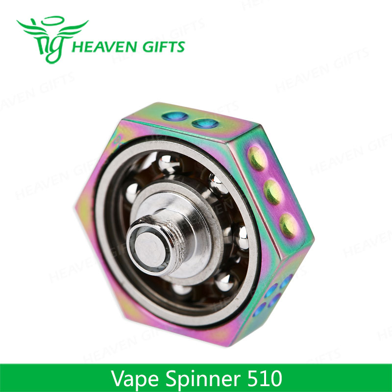 Heavengifts Vape Wholesale Supermarket Toys Fidget Spinner Fidget Focus Hand Spinner with 510 Thread Vape Spinner