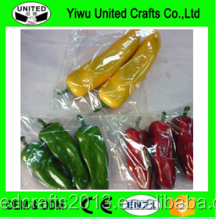 Artificial Lifelike Simulation Red Pepper red hot chili pepper/fakes