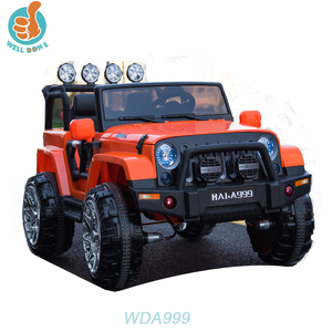 WDA999 Popular Ride On Toy Jeep 2 Seats Door Open, 2.4g R/C, Kids Electric Car 24v Volume Adjusting Car
