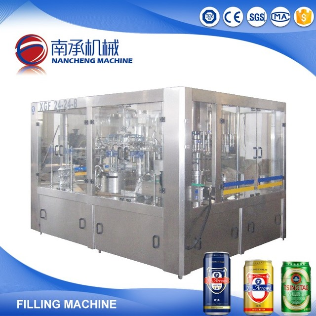 Automatic Small Carbonated Drink Cola,Coke Can Making Machine