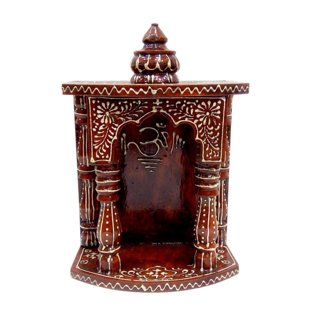 30e6b0822 Wooden Temple  Home Temple  Pooja Mandir  Pooja Mandap  Temple for Home