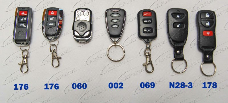 Electronic Keyless Car Central Locking System For Anti Thief And