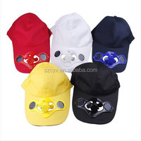 Promotional Solar Cooling Fan Cap