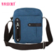 Brand new design business messenger bag canvas mini sling crossbody shoulder bag for man