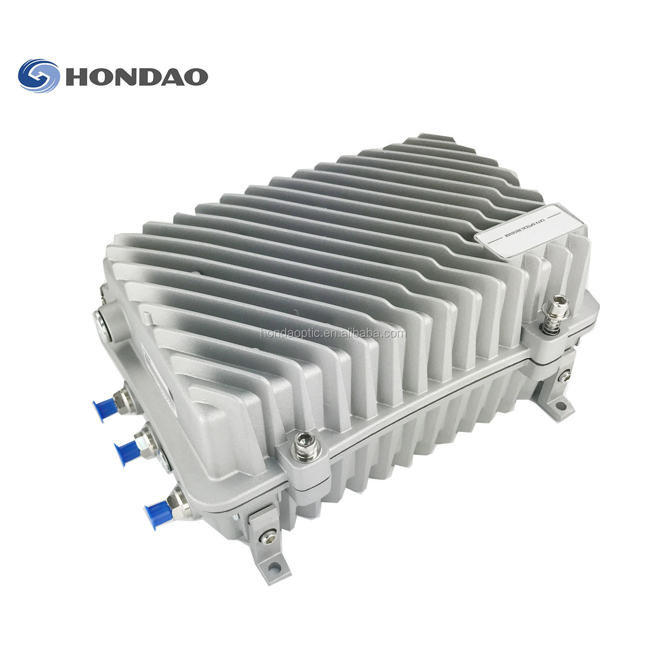 Hondao HD8604JL Multi Tugas Outdoor Node 3 In 1 DOCSIS 3.0 Mini Cmts Cmts HFC Optik Node dengan Reverse jalan