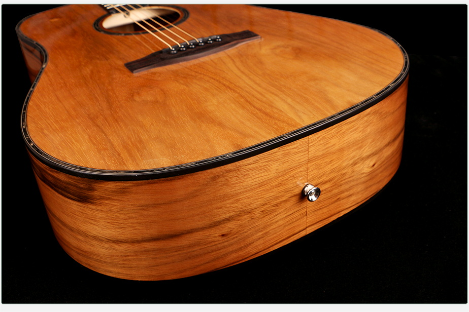 41 inch high quality guitar all Dao wood acoustic electric guitar made in china
