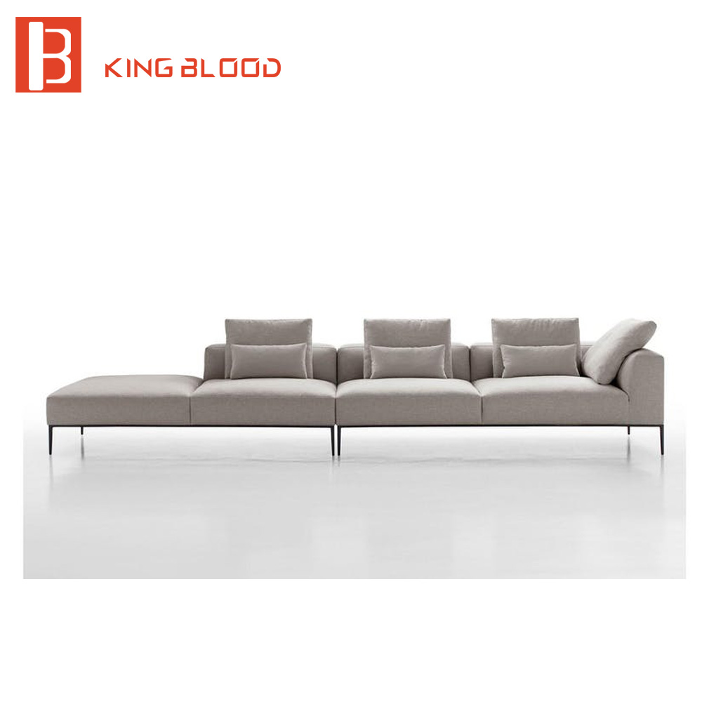 modern contemporary couch fabric sofa chaise pliante, View contemporary  sofa, Kingblood Product Details from Foshan Kingblood Furniture Co., Ltd.  on ...