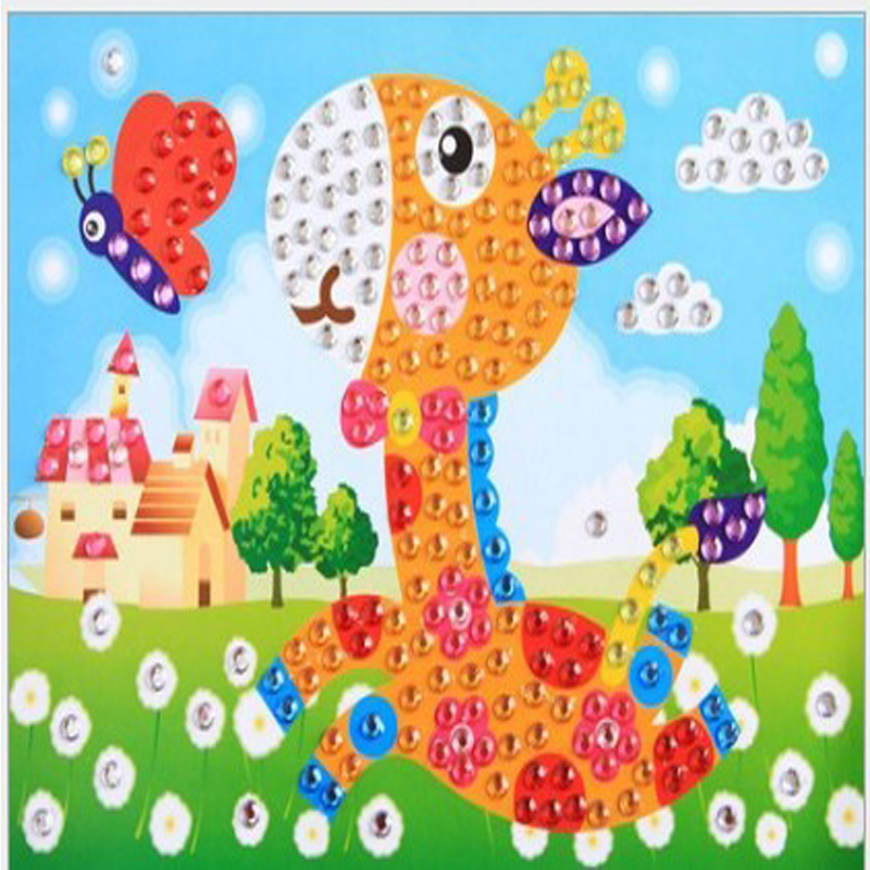 Popular Diamond Painting Needlework Mosaic Embroidery Cheap Toys For Kids