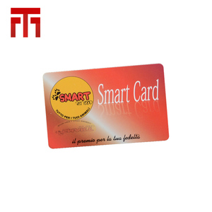 high quality blank greeting id pvc card chip