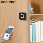 Mini Fingerprint Lock Lock Fingerprint Lock KERONG Mini Motor Square Panel Fingerprint Cabinet Lock