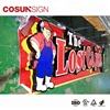 Cosun Facelit outdoor shop business advertising led channel letters sign with trim cap