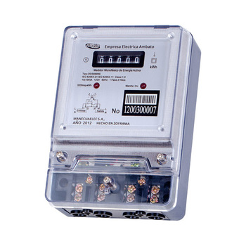 Single-phase Three-wire Electronic Counter Type Super Capacitor Energy  Meter/kwh Meter/watt-hour Meter - Buy Super Capacitor Energy  Meter,Electronic