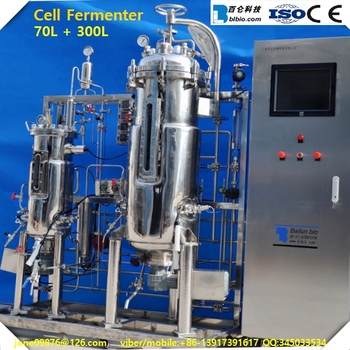 Lab Scale Bioreactor/cell Culture Fermenter/gmp Fermentation Tank ...