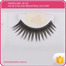100 % human hair colorful false eyelash