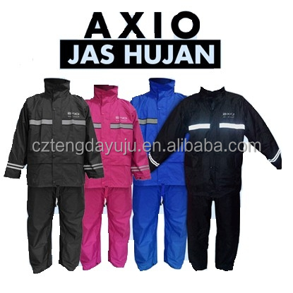 Indonesia reflective AXIO rain coats
