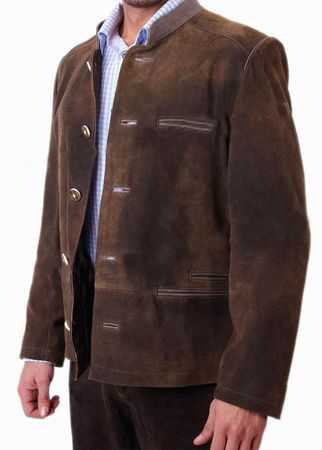 Bavarian Jackets Traditional Trachten Jacket Stachus Brown ...