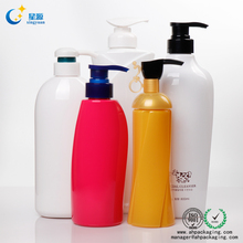 High quality PETG plastic bottle Clear like glass bottle for Shampoo lotion