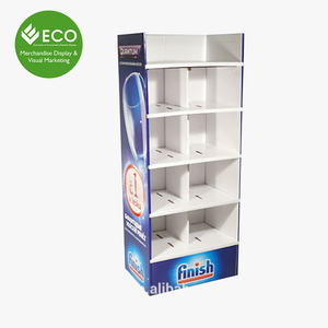 Customized Paper Glass Bottle Display Cabinet Stand For Shopping Mall Wholesale