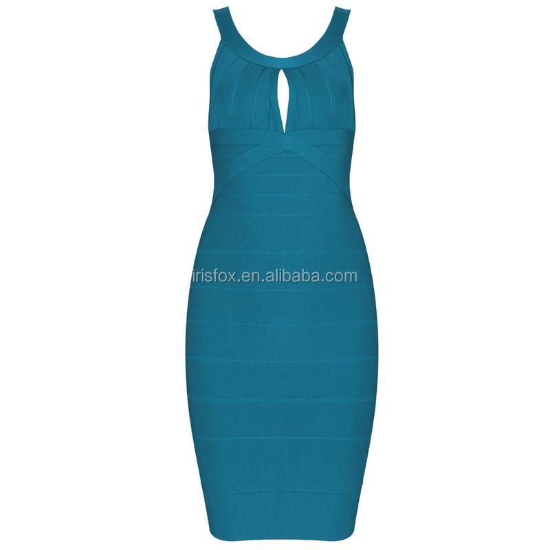 2015 Western Bodycon Formal Bandage Dress Women Party Wear One Piece Dress Manufacturer