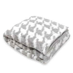 plush mink fleece blanket