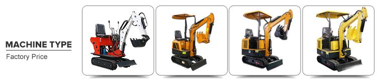 VTW Série 0.6-3.5 Ton Escavadeira Hidráulica Mini Escavadeira Com Preços Baratos Para Venda
