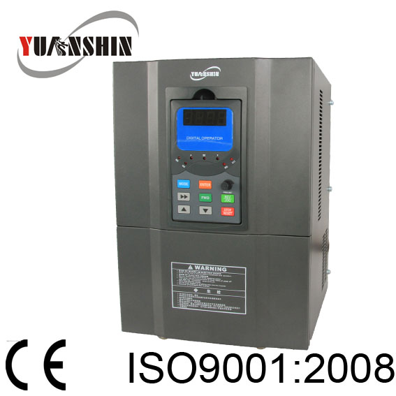 China supplier Yuanshin frequency converter 3 phase 5.5kw 380v AC motor drives