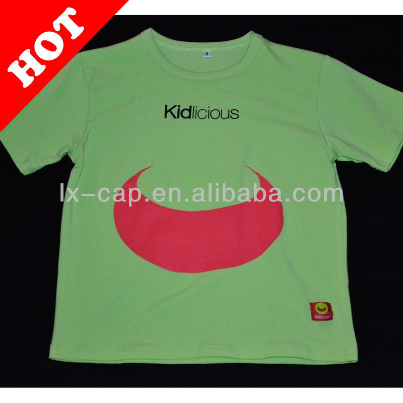 2013 new kids clothes china design frocks children t shirt