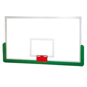 Factory Direct Sale Custom Size Outdoor Tempered Glass Basketball Board Backboard to Export