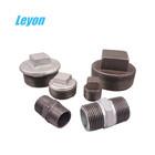 Npt Plug Malleable Iron Fittings Industrial Npt Hexagon/round Head Plug